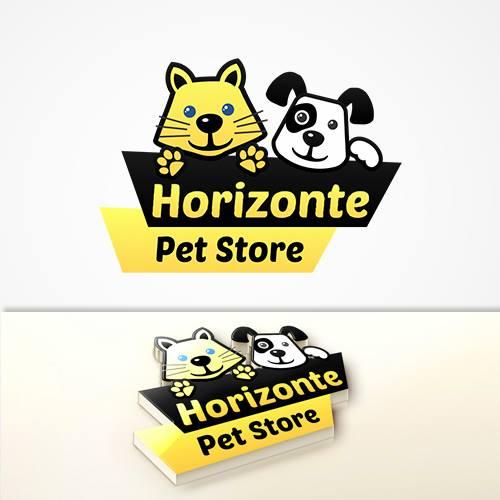 Horizonte Pet Store Logo